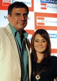 Boman Irani and Minissha Lamba at the press conference of