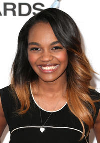 China Anne McClain at the 44th NAACP Image Awards in California.
