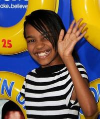 China Anne McClain at the premiere of