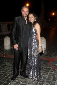 Kabir Bedi and Parveen Dusanj at the
