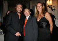 Kabir Bedi, Massimo Carraro and Tiziana Rocca at the Rome Film Festival.