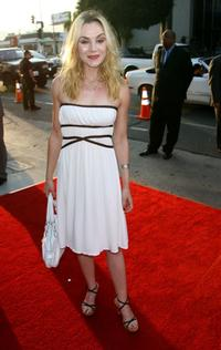 Rachel Miner at the premiere of