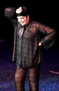 Liza Minnelli at the Luxor Resort & Casino, performs during the first show.