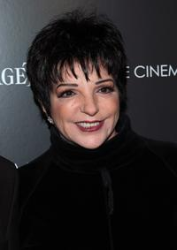 Liza Minnelli at the screening of