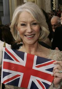 Helen Mirren at the 79th Academy Awards in Hollywood, California.