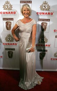 Helen Mirren at the British Academy of Film and Television Arts/Los Angeles awards.