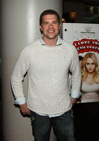 Josh Emerson at the screening of