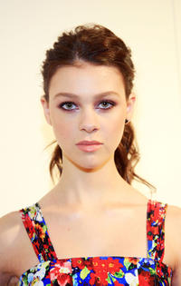 Nicola Peltz at the Alice + Olivia Fall 2011 presentation during the Mercedes-Benz Fashion Week.