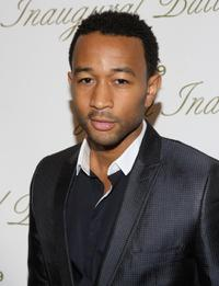 John Legend at the Green Inaugural Ball.