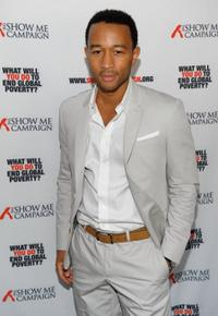 John Legend at the Legend's Show Me Campaign benefit.