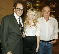 Philip Berk, Lorraine Nicholson and James Caan at the 2007 Cecil B. DeMille/Miss Golden Globe Announcement.