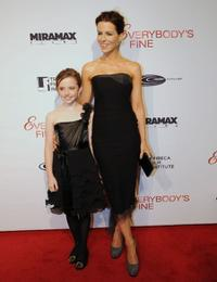 Lily Mo Sheen and Kate Beckinsale at the Tribeca Film Institute benefit screening of