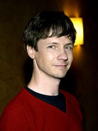 John Cameron Mitchell at the benefit reading of Tony Kushner's new play