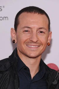 Chester Bennington at the 7th Annual MusiCares MAP Fund Benefit in California.