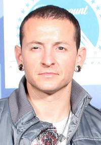 Chester Bennington at the 2008 MTV Video Music Awards in California.