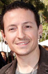 Chester Bennington at the Nickelodeon's 2008 Kids' Choice Awards in California.