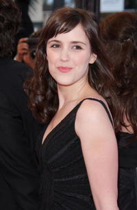 Clementine Poidatz at the premiere of