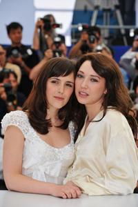 Clementine Poidatz and Laura Smet at the photocall of