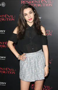 Hannah Marks at the California premiere of
