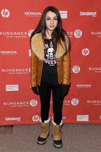 Hannah Marks at the 2010 Sundance Film Festival.