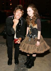 Joe Hursley and Madeline Carroll at the premiere of