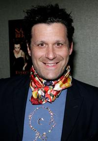 Isaac Mizrahi at the opening night of Sandra Bernhard's