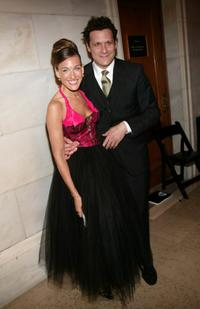 Sarah Jessica Parker and Isaac Mizrahi at the 2004 CFDA Fashion Awards.