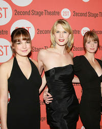 Laura Leigh, Stephanie March and Michelle Federer at the opening night party of