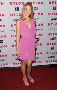 Kate Lang Johnson at the Nylon nad YouTube Young Hollywood Party.
