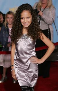 Madison Pettis at the DVD premiere of