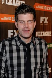 Stephen Rannazzisi at the premiere screening of