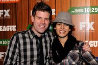 Stephen Rannazzisi and Nadine Velasquez at the premiere screening of