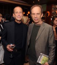 Charles Ferguson and Todd McCarthy at the premiere of