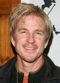 Matthew Modine at Johnnie Walker's