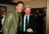 Ralph Moeller and Boris Becker at the preview of
