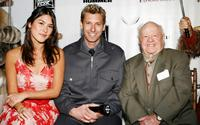 Mizuo Peck, Scott Topper and Mickey Rooney at the