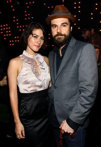 Mizuo Peck and Jeffrey Shagawat at the after party of