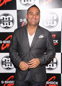 Russell Peters at the G-Shock 30th Anniversary Kick Off Event in New York.