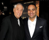 Director Garry Marshall and Russell Peters at the California premiere of