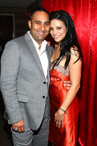 Russell Peters and Navi Rawat at the 2008 JCPenney Asian Excellence Awards in California.