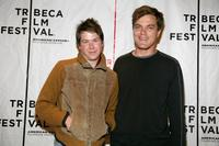 Barlow Jacobs and Michael Shannon at the premiere of