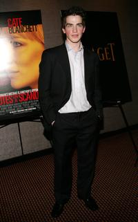 Andrew Simpson at the premiere of