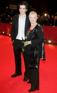 Andrew Simpson and Judi Dench at the premiere of
