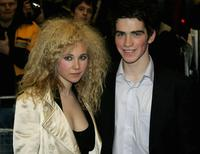 Andrew Simpson and Guest at the screening of