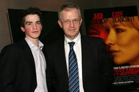 Andrew Simpson and his Father at the premiere of