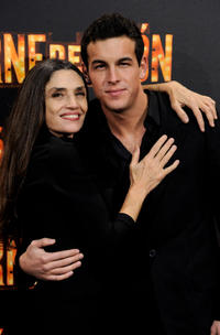 Angela Molina and Mario Casas at the Spain premiere of