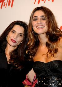 Angela Molina and Olivia Molina at the H&M Store Opening in Madrid.