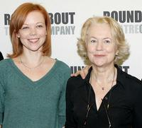 Emily Bergl and Dearbhla Molloy at the photocall of