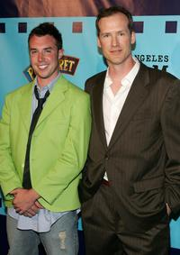 John Will Clay and Steven Griffith at the premiere of