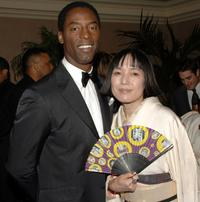 Isaiah Washington and Kaori Momoi at the MMPA's 13th Annual Diversity Awards.